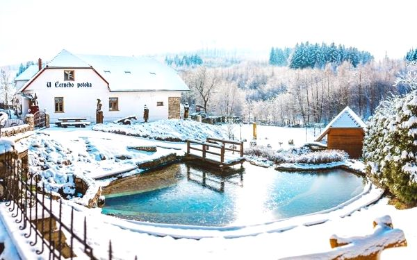 Jižní Morava: Penzion U Černého Potoka