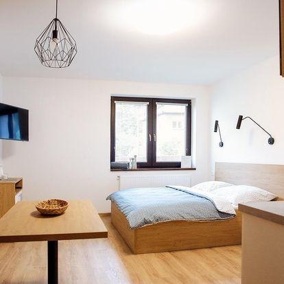 2 noci pro DVA v designových apartmánech na Čtvrtích v Beskydech
