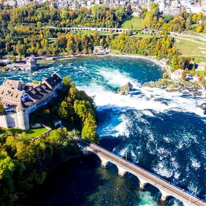 Zářijový víkend ve Švýcarsku u Rýnských vodopádů včetně návštěvy Curychu