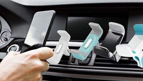 Držáky na mobil do mřížky ventilace auta