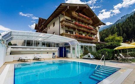 Last minute Tyrolsko s luxusním wellness a půjčením kol v hotelu Gutshof Zillertal****