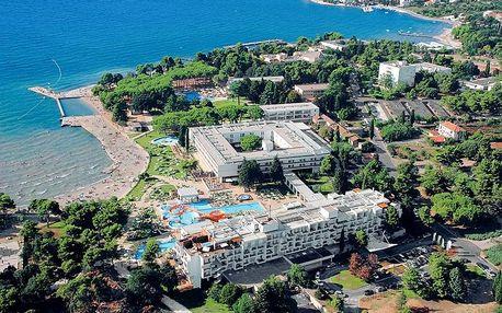 All inclusive dovolená s wellness v hotelu Falkensteiner v Chorvatsku