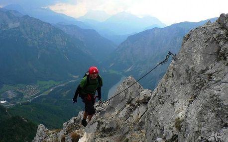 Canyoning, rafting a ferraty v Rakousku