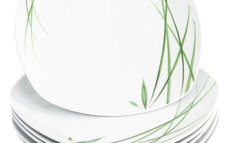 Domestic 6dílná sada mělkých talířů Delia, 25 cm
