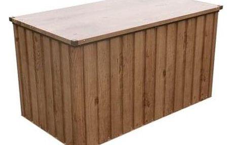 DURAMAX Zahradní úložný box 134 x 74 cm 71045 - dekor dub