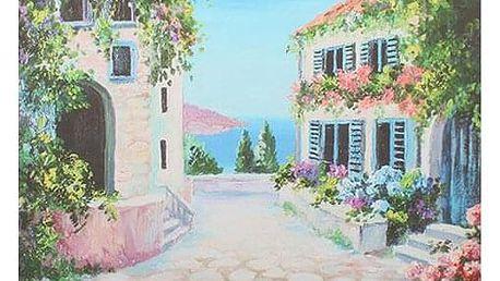 Obraz na plátně Flower alley