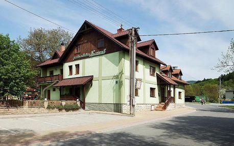 Beskydy: Penzion Pivovar Vraník