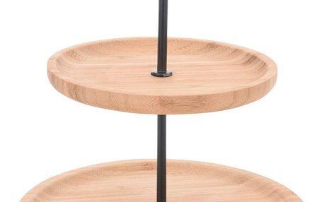 2patrový bambusový stojan