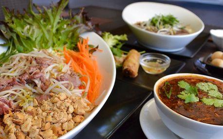 Tradiční vietnamské 3chodové menu pro 1 či 2