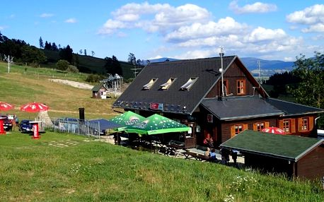 Hospůdka U Vleku poblíž Stezky v oblacích Dolní Morava