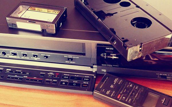 Převod 60 minut záznamu z jedné VHS2