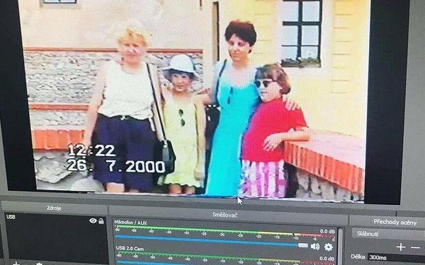 Převod 60 minut záznamu z jedné VHS3