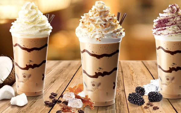 Ledové trdlokafe latté dle výběru5