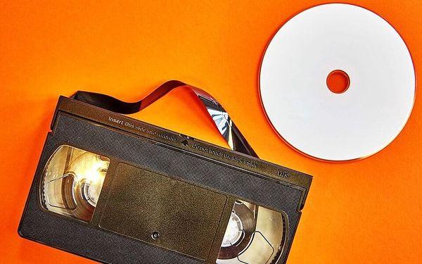 Převod 60 minut záznamu z jedné VHS5