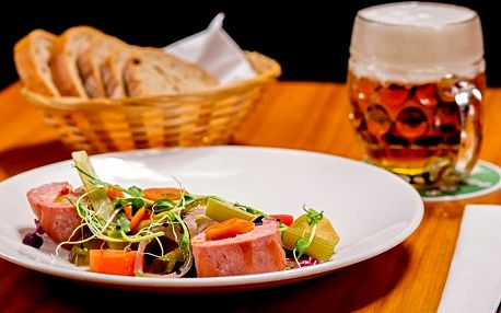 Voucher v hodnotě 1 000 Kč do restaurantu Salut v hotelu Absolutum**** v Praze