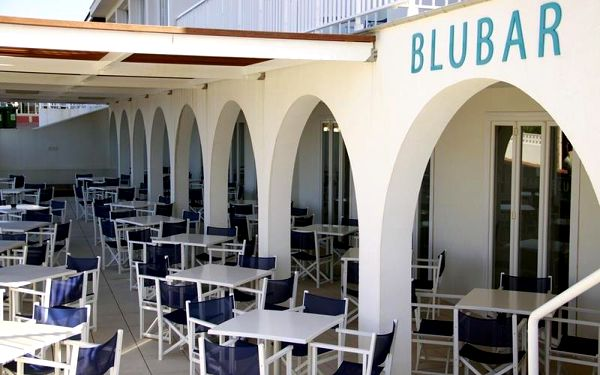 Playa Azul, Menorca, Španělsko, Menorca, letecky, polopenze2