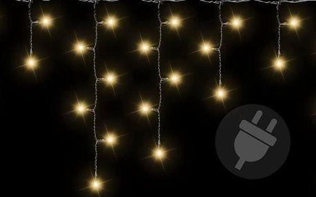 Nexos 38533 Vánoční světelný déšť 400 LED teple bílá - 7,8 m