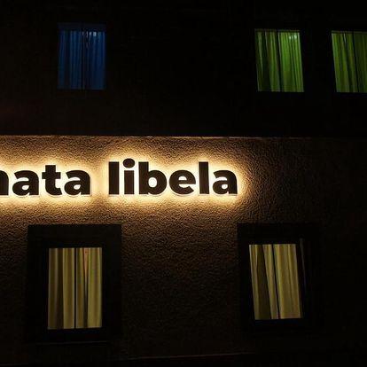 Boží Dar: Chata Libela vzdálená 300m od sjezdovky