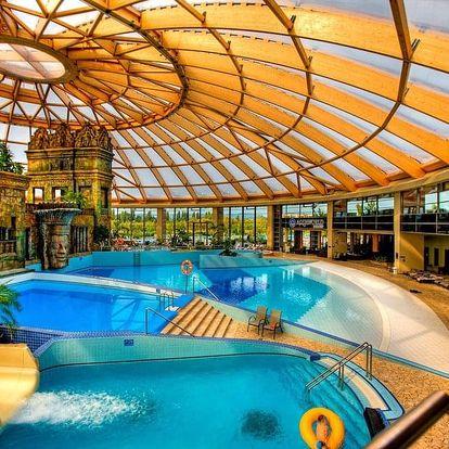 3 noci pro dva s polopenzí v Aquaworld resortu Budapešť