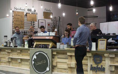 Kurz přípravy kávy espresso a cappuccino s dárkem navíc