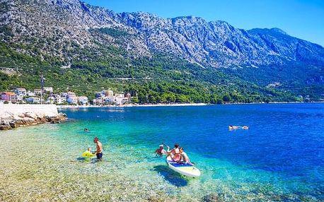 Chorvatsko: Makarská riviéra jen 200 m od moře ve Vila Marta pro 2 - 6 osob s autobusovou dopravou RegioJet