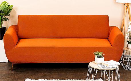4Home Multielastický potah na sedací soupravu Comfort terracotta, 180 - 220 cm