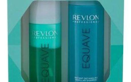 Revlon Professional Equave Instant Volumizing Detangling dárková kazeta pro ženy bezoplachový kondicionér 200 ml + micelární šampon 250 ml