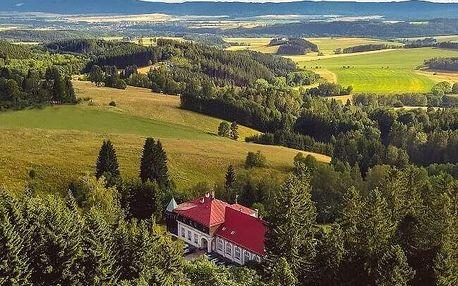 Ubytování v hotelu Zámeček Janovičky