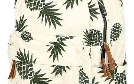 Školní batoh s ananasy