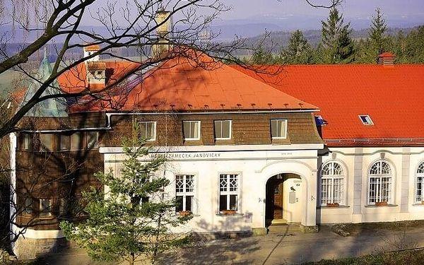 Ubytování v hotelu Zámeček Janovičky | Broumovsko - Janovičky | Listopad – březen (kromě Silvestra). | 3 dny/2 noci.3