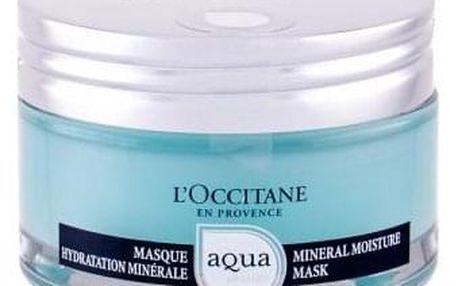 L´Occitane Aqua Réotier 75 ml hydratační maska pro suchou pleť pro ženy