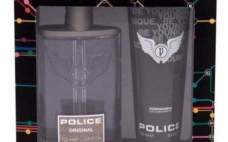 Police Original dárková kazeta pro muže toaletní voda 100 ml + sprchový gel 100 ml