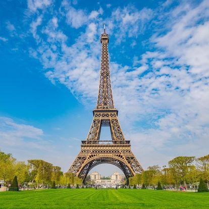Francie - Paříž letecky na 4 dny, snídaně v ceně