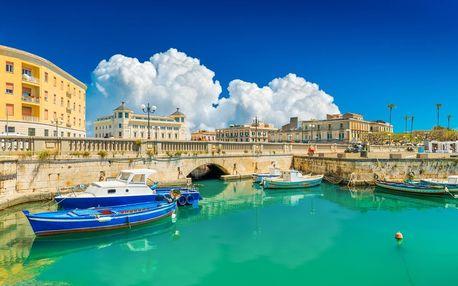 Itálie letecky na 10 dnů, polopenze