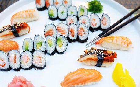 20 nebo 30 kousků sushi u Janáčkova divadla