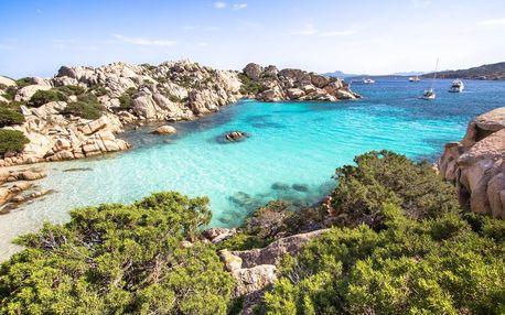 Itálie - Sardinie letecky na 7 dnů, polopenze