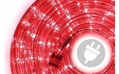 Nexos 824 LED světelný kabel 10 m - červená, 240 diod
