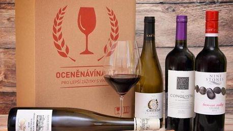 Zážitkové předplatné až 18 lahví vína