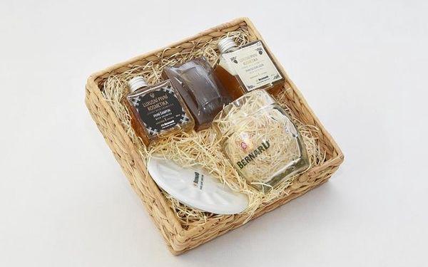 Dárkové balení pivní kosmetiky na vlasy a do koupele, V pohodlí domova (Celá ČR)2