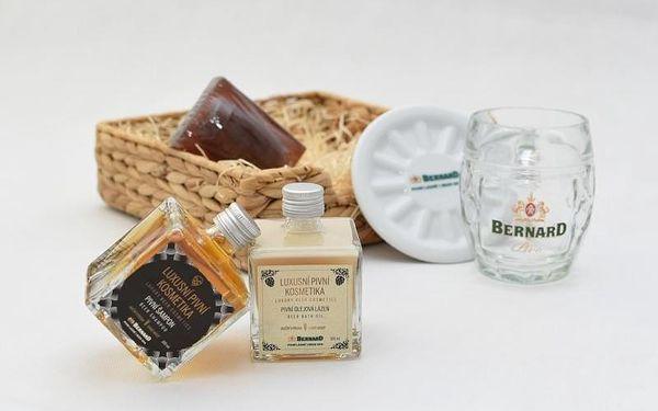 Dárkové balení pivní kosmetiky na vlasy a do koupele, V pohodlí domova (Celá ČR)4
