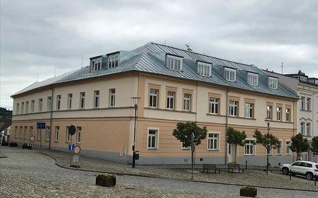 Kašperské Hory, Plzeňský kraj: Apartmán na náměstí