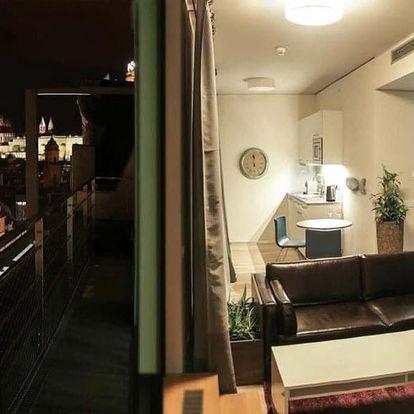 Dovolená ve vybavených apartmánech i pro celou rodinu v Wenceslas Square Terraces v Praze