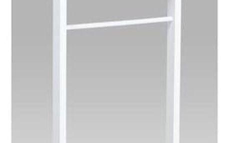 Němý sluha Raymond bílá, 45 x 30 x 104 cm