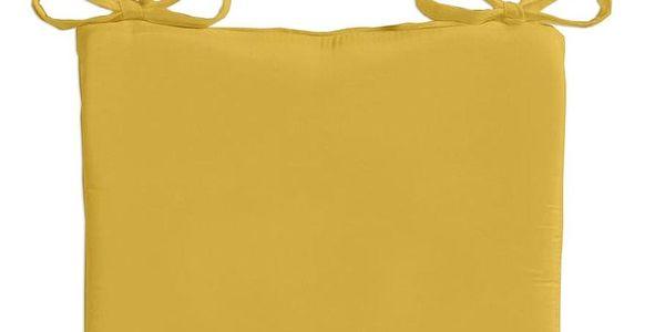 TODAY TODAY GARDEN SPIRIT vysoký podsedák na židli 40x40x6 cm Ceylon Yellow - žlutá