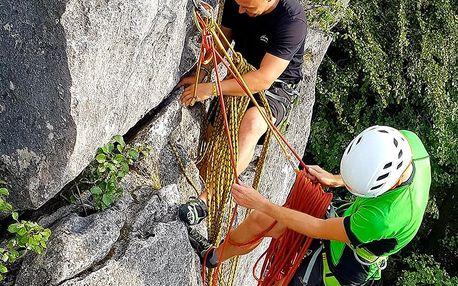 Individuální kurz skalního lezení pro dva