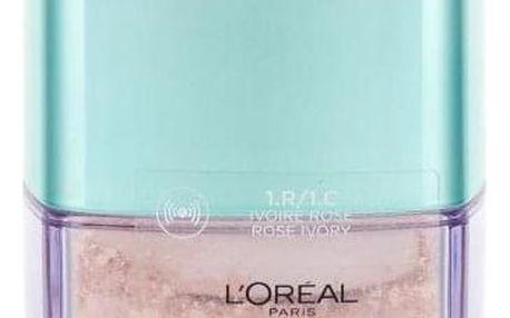 L´Oréal Paris True Match Minerals Skin-Improving 10 g pudrový make-up pro ženy 1.R/1.C Rose Ivory
