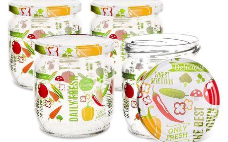 ORION Zavařovací sklenice s víčkem Fruit, 0,66 l