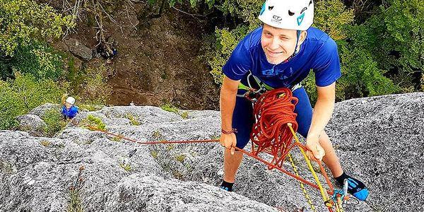 Individuální kurz skalního lezení pro dva | Kružberk/Oskava/Vsetín | Duben - říjen. | 5 - 6 hodin.5