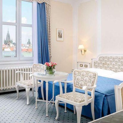 5* Hotel Ambasador Zlatá Husa na Václavském náměstí se snídaní