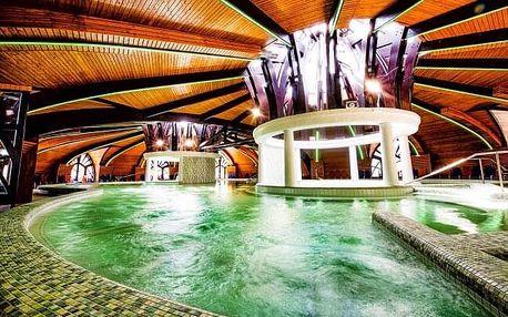 Zalakaros: Hotel Park Inn by Radisson **** přímo propojený s termálními lázněmi + polopenze a děti zdarma